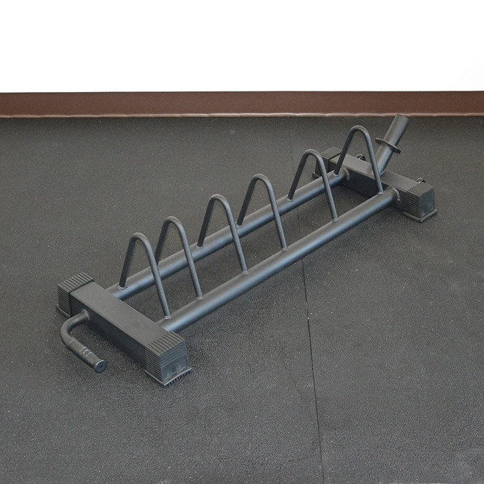 Horizontal Bumper Plate Rack by BRONSON
