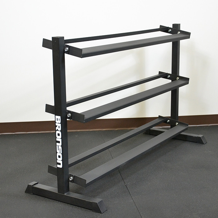 BRONSON 3-tier Dumbbell rack