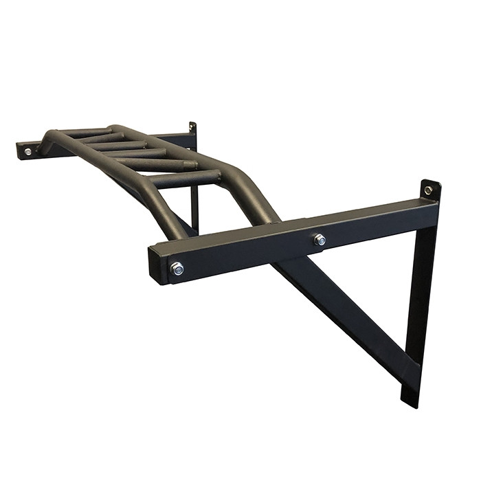 Multi Grip Wall Mounted Pull Up Bar by BRONSON