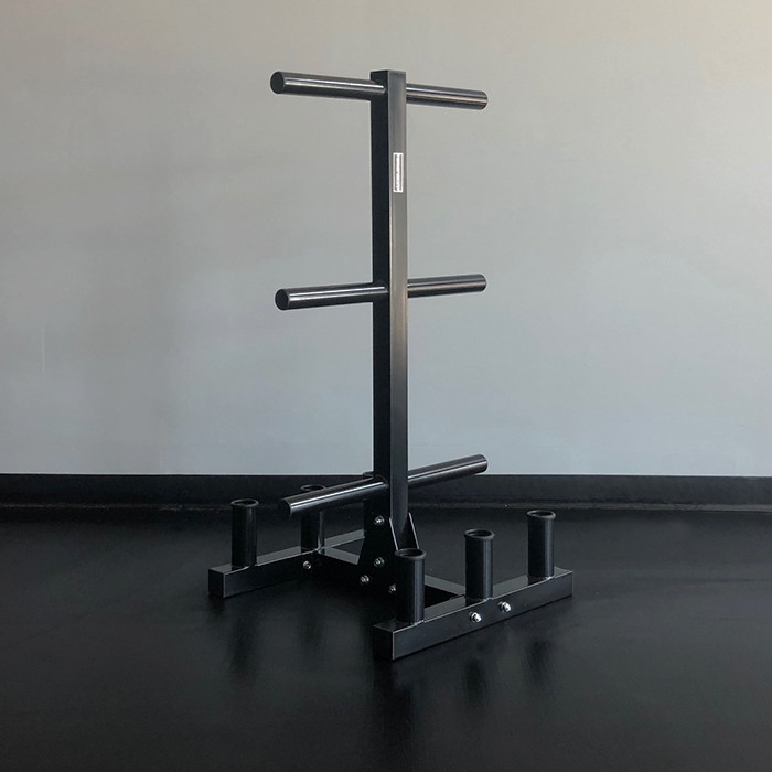 Bumper Plate and Barbell Storage Tree by BRONSON