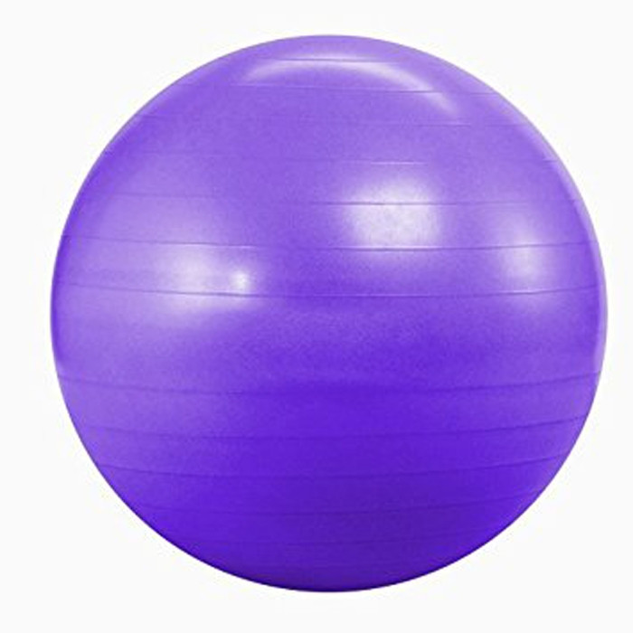 Exercise Stability Ball Purple 75 cm