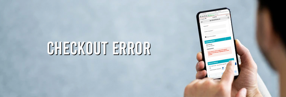 checkout error