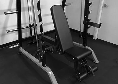 bench-set-up