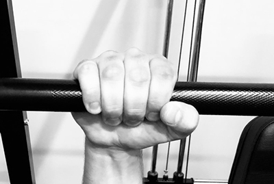 thumb-over-grip